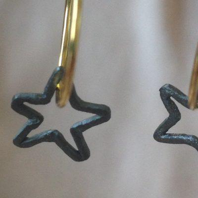 Astra Earrings Black detail-danaigiannelli