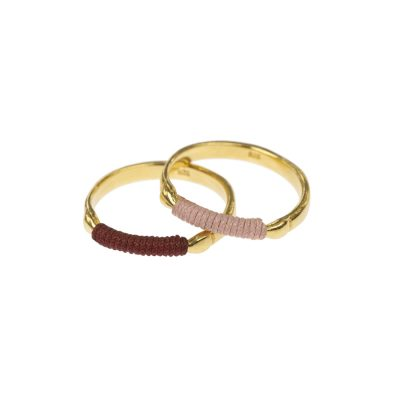 chromata rings gold rose colors-danaigiannelli
